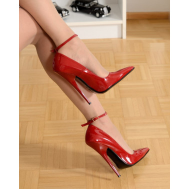 Red hot Italian luxury fetish pumps 35-46 EU