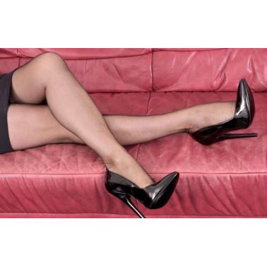 Ekskluzywne włoskie lakierowane szpilki fetysz 35-46 EU