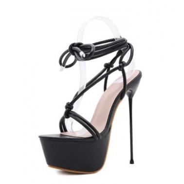 Seductive fetish female sandals high heels 35-40 EU