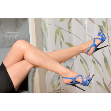 Skórzane włoskie sandały fetysz unisex 35-46 EU