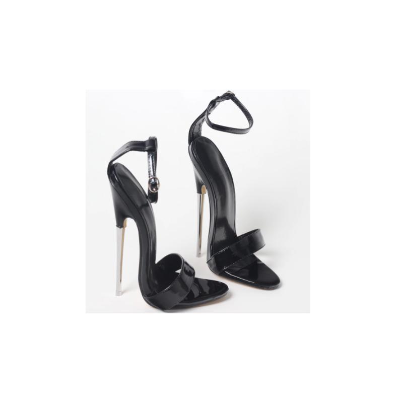 "Seksowne sandały ""metal heel"" Trans Crossdress 36-46 EU"