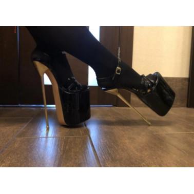 Niebotyczne sandały na platformie Trans Crossdress 36-45 EU