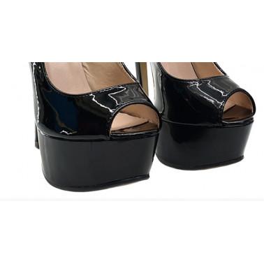Empire heel fetish Italian sandals 36-40 EU