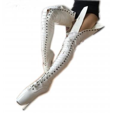 Fetisch Balletschuhe Trans Crossdress 35-45 EU
