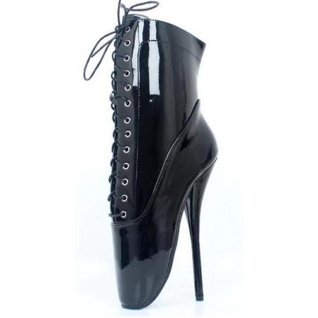 Fetish unisex ankle ballet boots 35-46 EU