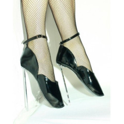 حذاء الباليه كعب معدني عالي