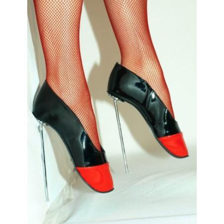Extreme metal heel unisex fetish ballet shoes 36-47 EU