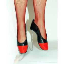 Metal heel szpilki czółenka baletki fetysz BDSM 36-47 EU