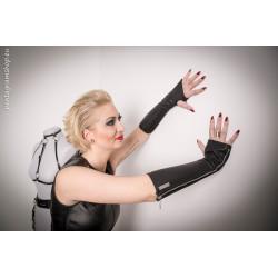 """Fingerless fetish gloves BDSM """"Domme hands"""""""