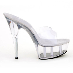 Italienische Fetish Gogo Crystal Schuhe