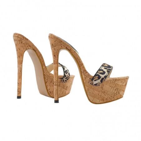 Sommer Holzkork Italienishe Fetisch Schuhe 35-44 EU