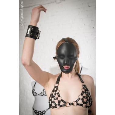 "Pełna maska  fetysz BDSM ""Eyes wide shut"""