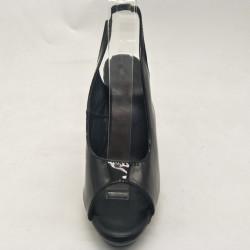 Open toe and back fetish Trans Crossdress heels
