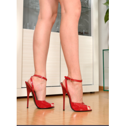 Luxury red hot high heeled sandals unisex 35-46 EU