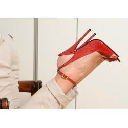 Niebotyczne włoskie skórzane sandały 35-46 EU