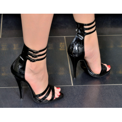 Sexy strapped high heeled sandals 35-46 EU