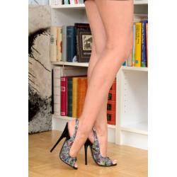 أحذية ليوبارد الايطالية الكعب العالي