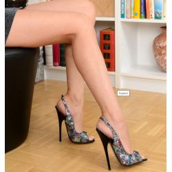 Wyzywające skórzane sandały multikolor 35-46 EU