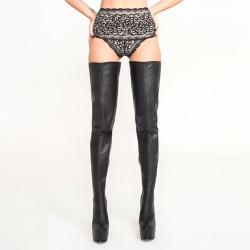 Elegant Trans Crossdress fetish over knee boots 35-46 EU
