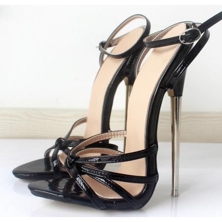 """Fetisch Schwarz Sandals """"Chloe"""""""
