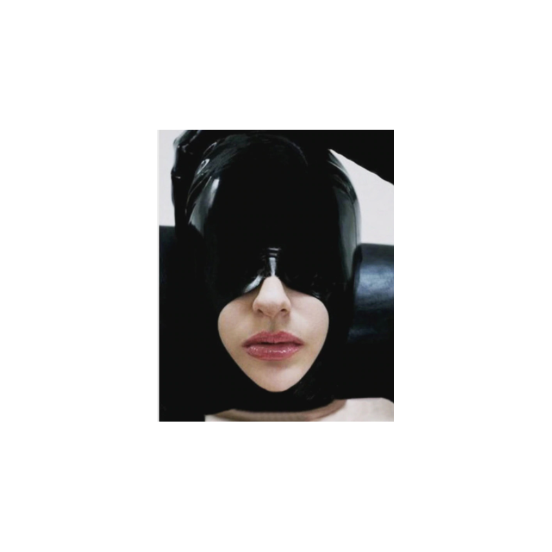 Fetisch Latexmaske mit eine Loch für den Mund