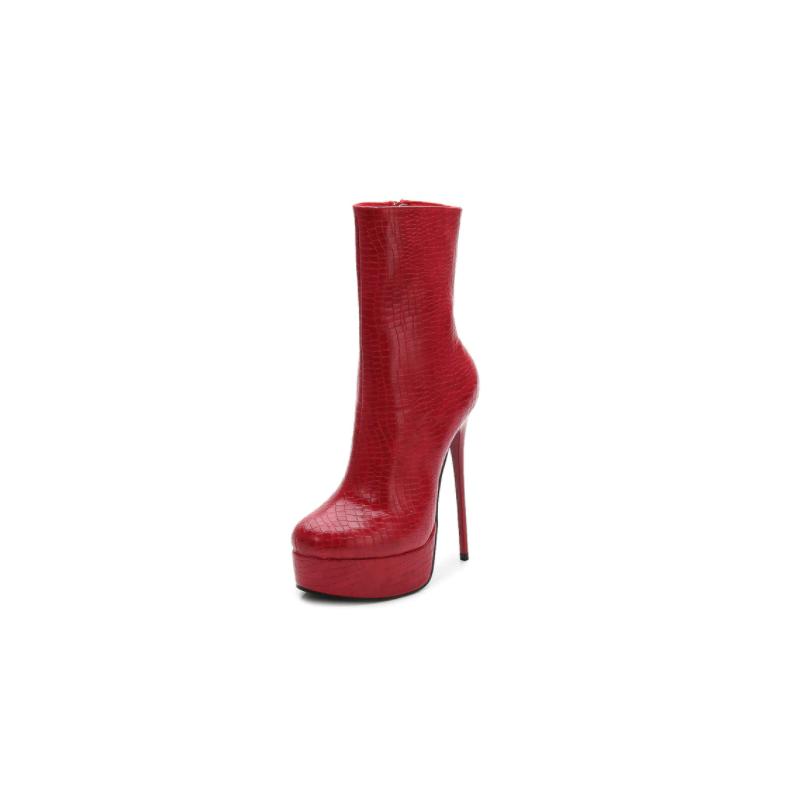 Fetish Trans Crossdress ankle boots 36-46 EU