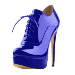 Front Lacing Trans Crossdress fetish boots 35-46 EU