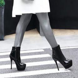 Trans Crossdress fetish ankle boots 35-46 EU