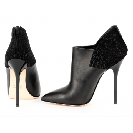 "Black fetish unisex boots Giaro ""Brenda"""