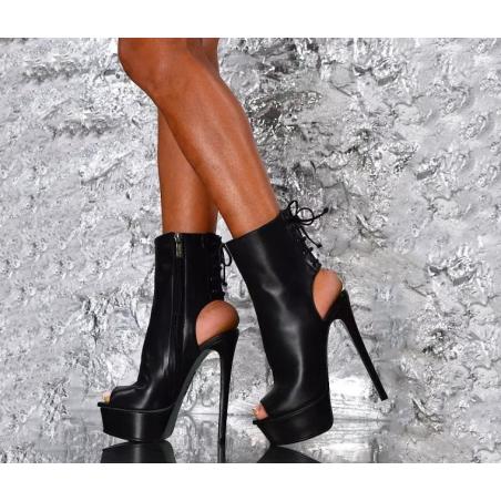 Open toe and heel  fetish Trans Crossdress boots 35-46 EU