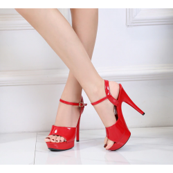 High multi color sandals gogo different height 35-43 EU