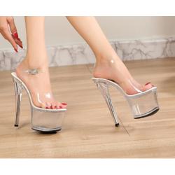 Gogo diamonds sandals heels different height 35-43 EU