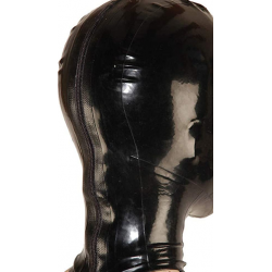 Latex mask hood perforated eyes  fetish BDSM