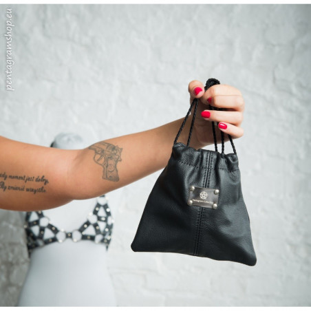"Purse bag for BDSM accessories ""Blackness"""