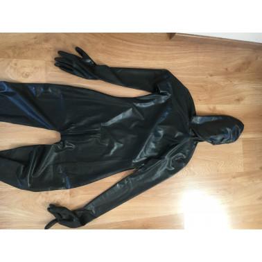 Fetisch Latexsuit mit Maske Handschuhen und Füßen
