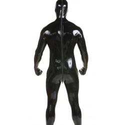 Kombinezon lateks catsuit unisex maska ręce stopy fetysz BDSM