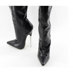 Fetish Unisex Boots Metal Heel 35-46 EU