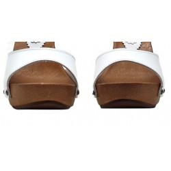 Sommer Fetisch Italienische Holzpantoletten Clogs 35-42 EU