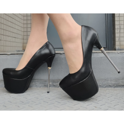 Seductive fetish metal heel pumps 35-42 EU