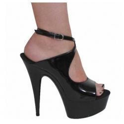 Ankle strap fetish Trans Crossdress sandals heels 35-46 EU