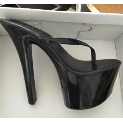 "Fetish high heeled pumps ""open toe"""