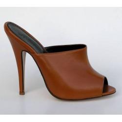 Italian crafted hand made luxury mules heels 36-45 EU