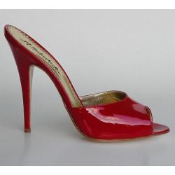 Klassische Spike Stiefel mit Muster