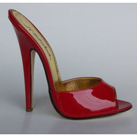 Seductive Italian crafted hand made luxury mules heels 36-45 EU
