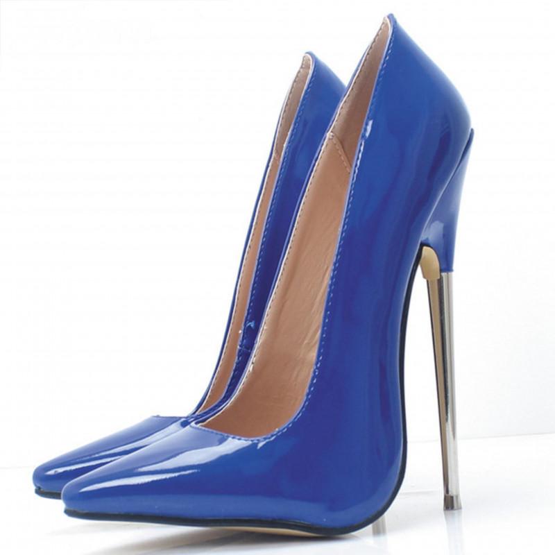 "Szpilki czółenka Trans Crossdress ""metal heel"" 36-46 EU"