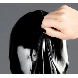 Fetisch Latexsuit mit Kapuzen Handschuhen und Füßen