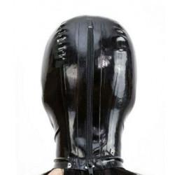 Latex hood mask cat eyes and mouth fetish BDSM