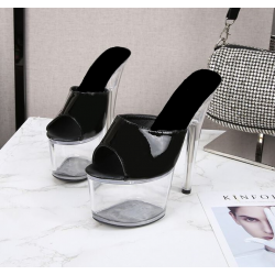 Crystal fetish unisex gogo sandals heels 35-42 EU