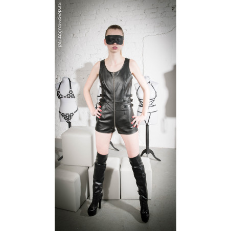 "Fetish dress front ring BDSM ""Veronica"""
