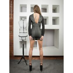 "Sexy unisex leather dress BDSM ""Selene"""